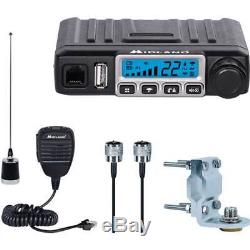 Midland Mxt115vp3 Micro Mobile Mxt115 15w Gmrs 2 Way Radio Antenna