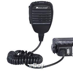Midland MXT115VP3 Micro Mobile MXT115 15W GMRS 2 Way Radio Antenna Bundled Kit