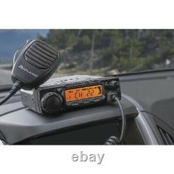 Midland MXT400 MicroMobile 15 Channels 40W Two-Way Radio Black