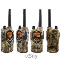 Midland Waterproof 36 Mile Two Way Walkie Talkie Radio Headset GXT1050VP4 4 Pack