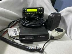 Motorola 110 Watt Remote Mount Mcs2000 Vhf Police Fire Ham Mobile Radio 146-174