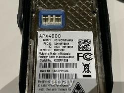 Motorola APX 4000 APX4000 900Mhz BLUETOOTH GPS