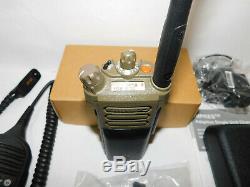 Motorola APX 6000 UHF R1 P25 Digital Portable Radio AES ADP M 1.5 9600 Baud FDMA