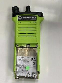 Motorola APX 7000 Two-Way Radio UHFR1 / 7-800 Model 3.5, No LCD Backlight, Read