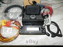 Motorola APX 7500 05 UHF R1/7/800mhz FPP P25 Digital Mobile Radio AES DES XL OFB