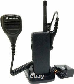Motorola APX3000 P25 TDMA UHF Digital Two Way Radio Covert ADP AES Factory Tags