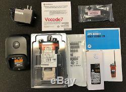 Motorola APX4000XH APX 4000XH BT P25 Phase 2 TDMA BRAND NEW