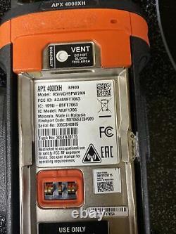 Motorola APX4000XH Portable Radio