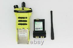 Motorola APX7000 XE M3.5 UHF1 800 P25 SmartZone TDMA Radio With Impres Battery FPP