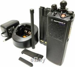 Motorola ASTRO XTS 5000 VHF 136-174 MHz APCO P25 Radio Smartzone Smartnet ADP