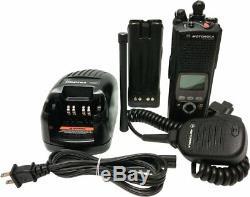 Motorola ASTRO XTS5000 II VHF Trunking Radio P25 9600 UCM Smartzone H18KEF9PW6AN