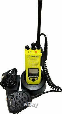 Motorola ASTRO XTS5000R VHF APCO P25 9600 Digital Radio Police Fire EMS Omnilink