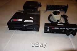 Motorola Astro Spectra Police 2-way radio W4 HAM T99DX + 130W Astro 800 MHZ