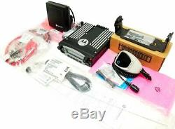 Motorola Astro XTL 5000 VHF 50w Two Way Mobile Radio P25 AES DES M20KSS9PW1AN