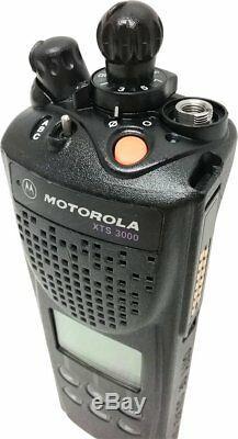 Motorola Astro XTS 3000 II Radio 450-520MHz UHF GMRS Smartnet Smartzone Omnilink