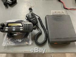 Motorola CDM1250 CDM-1250 VHF LOW BAND 42-50MHZ 64ch 60w two way mobile radio