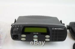 Motorola CDM1250 UHF 25 Watts 64 Ch 450-512 Mhz