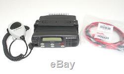 Motorola CDM1250 VHF 45 Watts 64 Ch 136-174 Mhz