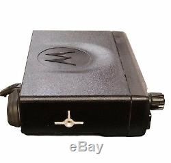 Motorola CM200 Mobile Vehicle Radio, VHF 146-174, 4CH, 45 Watt AAM50KQC9AA1AN