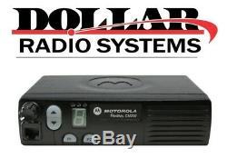 Motorola CM200 Radius 4Ch 40W UHF 438-470Mhz HAM GMRS Police Radio Mobile Only