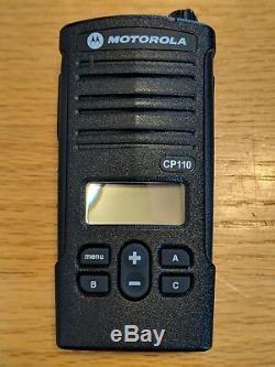 Motorola CP110d VHF MURS Two-Way Radio. 100% Compatible with Walmart RDM2070d