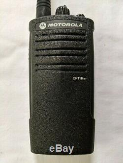 Motorola CP110m VHF MURS Two-way radio. Compatible with Walmart RDM2070d