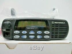 Motorola Cdm1550ls Vhf 160 Channel 1-45w With New Accessories Aam25kkf9dp6an