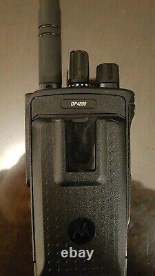 Motorola DP4800 UHF (or VHF) Digital Two Way Radio Walkie Talkie DMR HAM