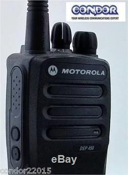Motorola Dep450 403-470mhz 5w 16 Ch (lah01qdc9ja2an). Export Only