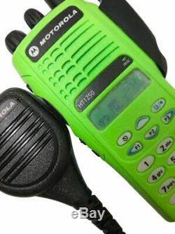 Motorola HT1250 UHF Police Fire EMS Commercial Radio 403-470 MHz Quik Call II 4w