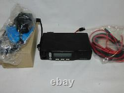 Motorola M1225 VHF 24 Channel 45 watt mobile radio Wide/Narrow Band CDM CM300