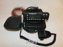 Motorola MCS2000 VHF 110w Remote Mount Model 2 Mobile Radio Analog Wide/Narrow