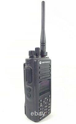 Motorola MOTOTRBO Dp4801 XiR P8668 VHF DMR Radio same as XPR7550 H56JDN9KA1AN