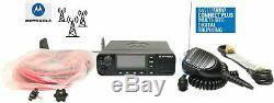 Motorola MOTOTRBO XPR 5550e UHF Digital DMR Mobile Radio Color LCD Bluetooth GPS
