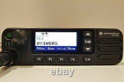 Motorola MOTOTRBO XPR5550 VHF 136-174MHz DMR Digital Mobile Radio AAM28JQN9KA1AN