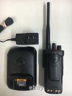 Motorola MOTOTRBO XPR7550 VHF 136-174MHz Two Way Portable Radio AAH56JDN9KA1AN