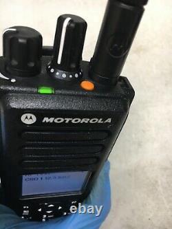 Motorola MOTOTRBO XPR7580 900MHz Two Way Portable Radio