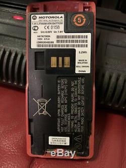 Motorola MTP850 Ex TETRA 806-870 MHz UHF GPS Two Way Radio With Remote Speaker