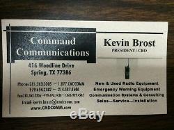 Motorola Maxtrac Tactical Inband or Crossband Repeater VHF/UHF