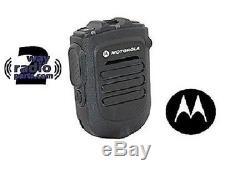 Motorola MotoTRBO Bluetooth Wireless Remote Speaker Mic KIT XPR5550 XPR7550 New