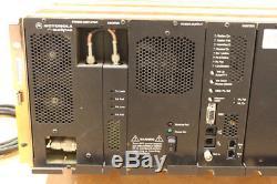 Motorola Quantar UHF 100 Watt GOLD Chassis Repeater 438-470 Mhz Range 2 V. 24