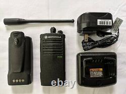 Motorola RDU4100 UHF two-way radio Refurbished. 4 watts 10 channels