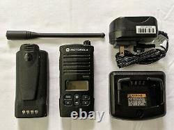 Motorola RDX RDU4160d UHF Two-Way Radio. Compatible with RDU4100
