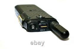 Motorola SL300 Portable UHF 99 Channel Active Display Two-Way Radio with Charger