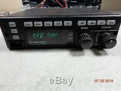 Motorola Spectra ASTRO + VHF 146-174 W4 Rotary Knobs mobile RADIO D04KKF9SW4AN