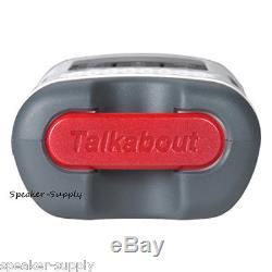 Motorola Talkabout T260TP Walkie Talkie 6 Pack Set Two Way Radio NOAA 25 Mile