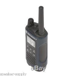 Motorola Talkabout T460 Walkie Talkie 10 Pack Set 35 Mile Two Way Radio Vibrate