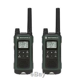 Motorola Talkabout T465 Walkie Talkie 4 Pack 35 Mile Two Way Radio(Case+Earbuds)