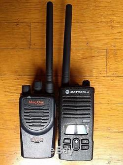 Motorola VHF Two-way radio. Programmed for Walmart. Compatible with RDM2070d