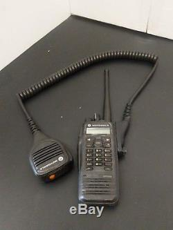 Motorola XPR 6550 Mototurbo Two-Way Handheld Radio with Shoulder Mic